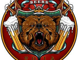#10 for Logo Design for Beer 2014 by kawashimadesigns