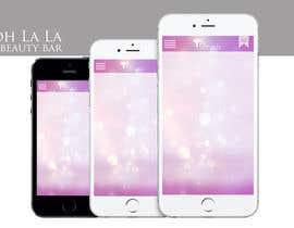 d7omepro tarafından Design a Mobile App Mockup (Splash, background, and 3 headers) için no 5