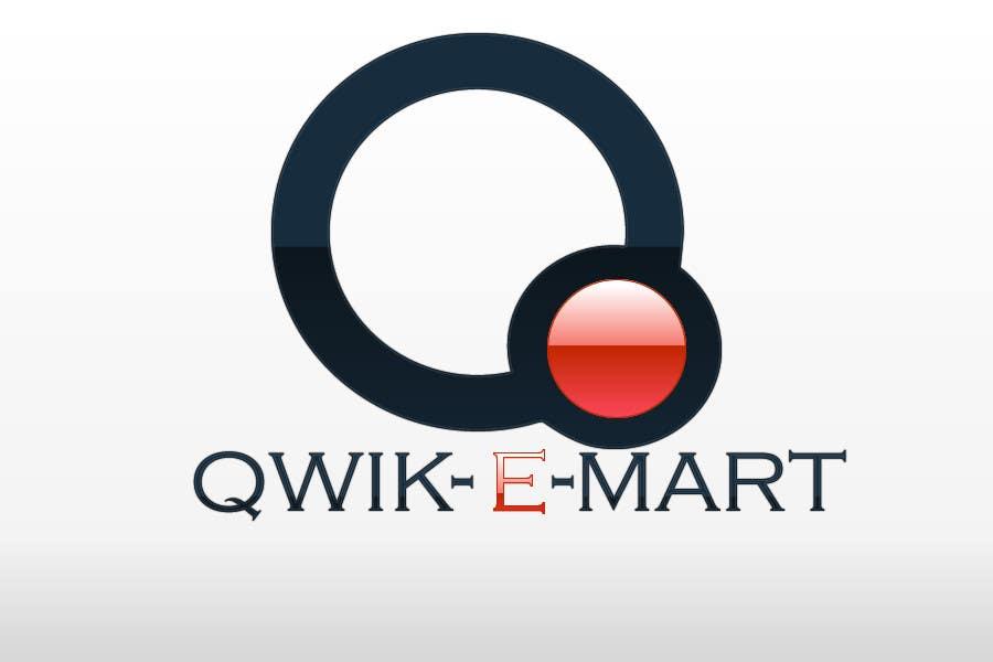 Participación en el concurso Nro.61 para Logo Design for Qwik-E-Mart