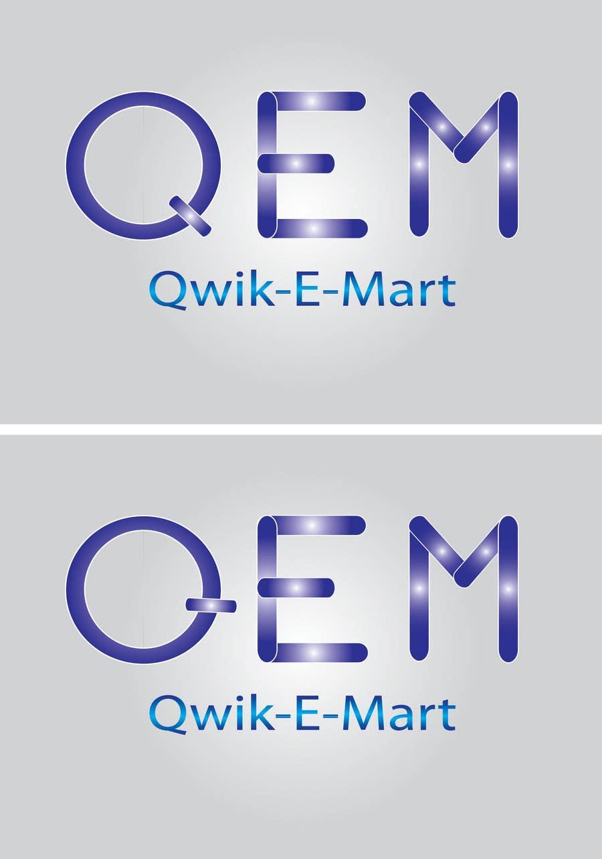 Contest Entry #65 for Logo Design for Qwik-E-Mart