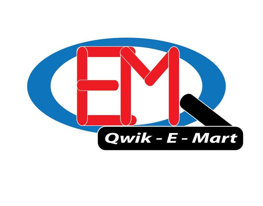Contest Entry #227 for Logo Design for Qwik-E-Mart