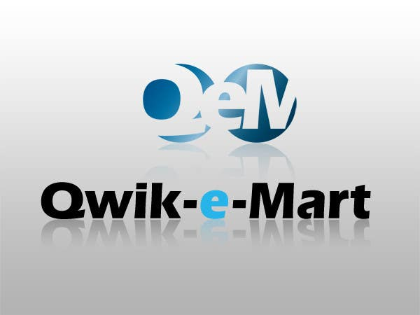 Contest Entry #15 for Logo Design for Qwik-E-Mart