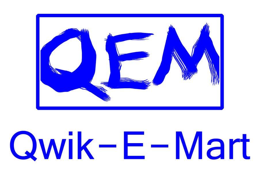 Participación en el concurso Nro.105 para Logo Design for Qwik-E-Mart