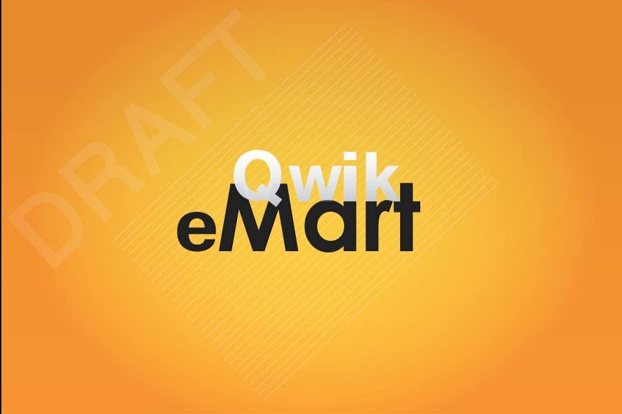 Конкурсна заявка №14 для Logo Design for Qwik-E-Mart