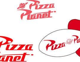 markovicnatasha tarafından Pizza Planet Rocket Ship Vector için no 8