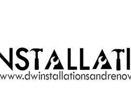 Nro 45 kilpailuun Logo Design for http://dwinstallationsandrenovations.com.au/ käyttäjältä jojohf