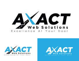 #8 for Professional Logo For AxactWebSolutions - repost af zaldslim