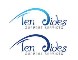 jayvee88 tarafından Design a Logo for Ten Sides Support Services için no 23