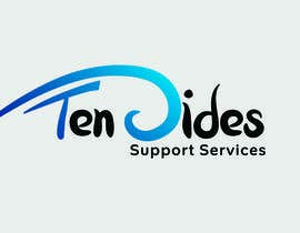 #13 para Design a Logo for Ten Sides Support Services por Iddisurz