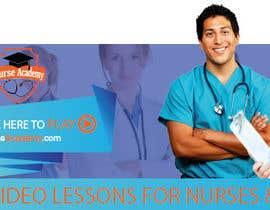 Nro 42 kilpailuun Nurse Academy seeking a website banner design käyttäjältä Meltembs