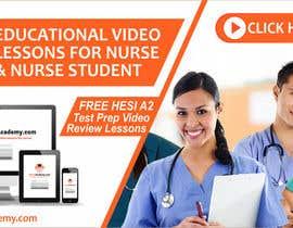 Nro 28 kilpailuun Nurse Academy seeking a website banner design käyttäjältä adview1