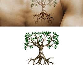 Nro 6 kilpailuun Design a hidden message in a tree Tattoo käyttäjältä dhayaldhaya
