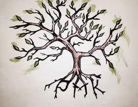 Nro 13 kilpailuun Design a hidden message in a tree Tattoo käyttäjältä Eugenya
