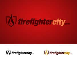 #58 para Logo Design for firefightercity.com por PsychoSherry