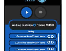 nº 9 pour Design a time tracking application par vinayvijayan