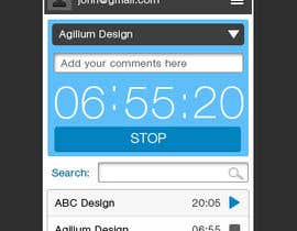 nº 5 pour Design a time tracking application par seguro