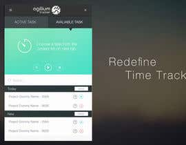 nº 17 pour Design a time tracking application par MrVoon