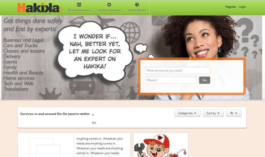 Illustrate Something fora marketplace website! için 11 numaralı Yarışma Girdisi