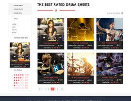 webmastersud tarafından Design a Website Mockup için no 7