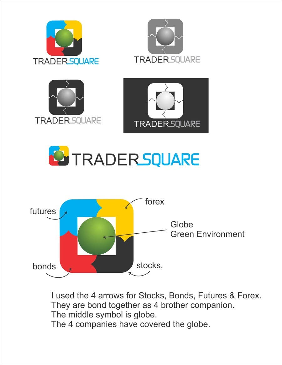 """#37 for Design a Logo for  """"Trader Square"""" (Trading Community Website) by surabi123"""