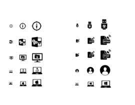 #39 for Design 10 icons by luutrongtin89