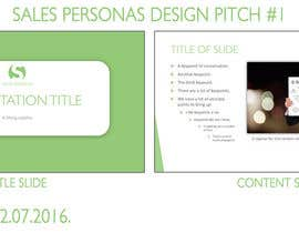 Nro 4 kilpailuun Design a PPT Template käyttäjältä LittleDinamit
