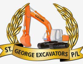 #42 untuk Graphic Design for St George Excavators Pty Ltd oleh barada0
