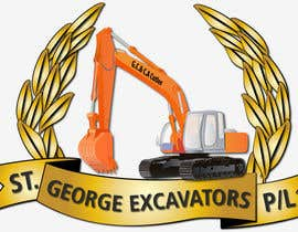 #43 untuk Graphic Design for St George Excavators Pty Ltd oleh barada0