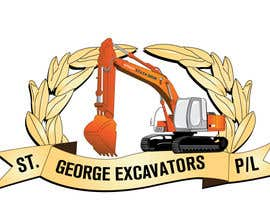 nº 15 pour Graphic Design for St George Excavators Pty Ltd par crfdesigns