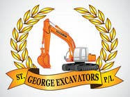 Graphic Design for St George Excavators Pty Ltd için Graphic Design44 No.lu Yarışma Girdisi