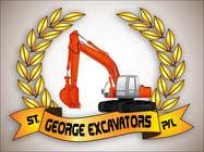 Graphic Design for St George Excavators Pty Ltd için Graphic Design36 No.lu Yarışma Girdisi