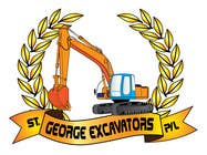 Graphic Design for St George Excavators Pty Ltd için Graphic Design31 No.lu Yarışma Girdisi