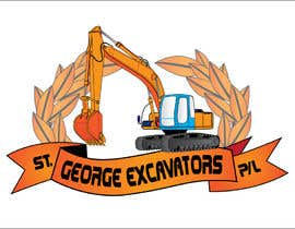 nº 29 pour Graphic Design for St George Excavators Pty Ltd par fatamorgana