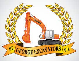 #45 untuk Graphic Design for St George Excavators Pty Ltd oleh fatamorgana