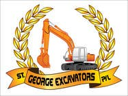 Graphic Design for St George Excavators Pty Ltd için Graphic Design35 No.lu Yarışma Girdisi