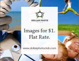 #64 for Design a Print Advertisement for Dollar Photo Club by christarad