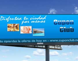 #25 for Billboard Design for Cupon Club by malakark