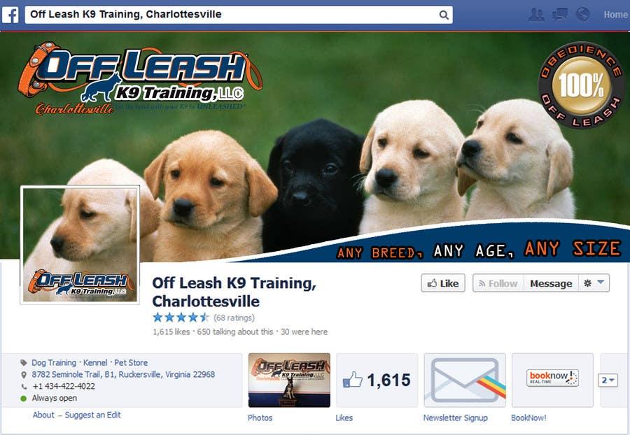 Inscrição nº 22 do Concurso para Facebook Page Banner and Profile Picture