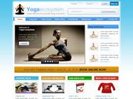 Contest Entry #124 for Design a Website Mockup for Elite Yoga Gear