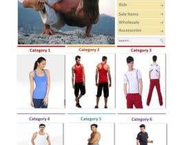 #133 cho Design a Website Mockup for Elite Yoga Gear bởi huminam
