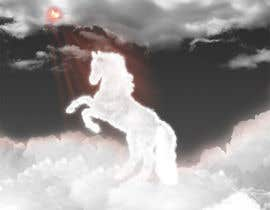 #16 para Design a picture of clouds in the shape of a horse por seguro