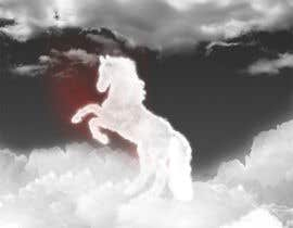 #23 para Design a picture of clouds in the shape of a horse por seguro
