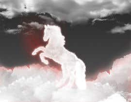#24 para Design a picture of clouds in the shape of a horse por seguro