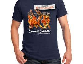Nro 3 kilpailuun Design a T-Shirt (class reunion) käyttäjältä MartinM7