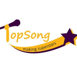 #3 for Re-Design a Logo for TOP SONG MUSICAL REALITY SHOW by ngochoang862