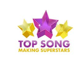 #35 para Re-Design a Logo for TOP SONG MUSICAL REALITY SHOW por iamnaab