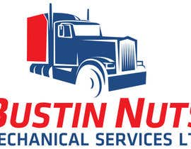 pradeeppatil802 tarafından Design a Logo for Bustin Nuts Mechanical Services Ltd. için no 85