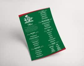 Nro 25 kilpailuun Italian Restaurant menu käyttäjältä markontoy