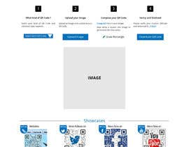 nº 34 pour Design a Website User Interface for QRcode generation company par lauranl