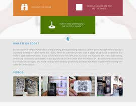 #40 untuk Design a Website User Interface for QRcode generation company oleh manishb1